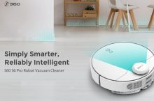 News: 360 S6 PRO Robot Vacuum Cleaner, more silence, more autonomy and a remote controler as bonus